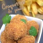 Croquette de poulet facile