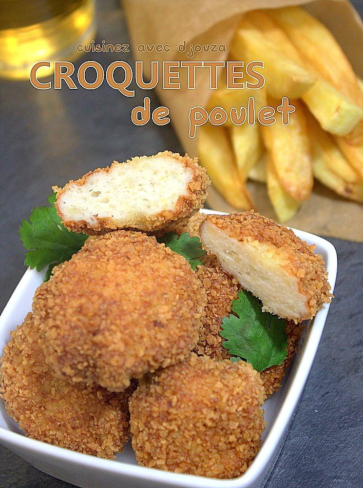 recette croquettes de poulet fait maison