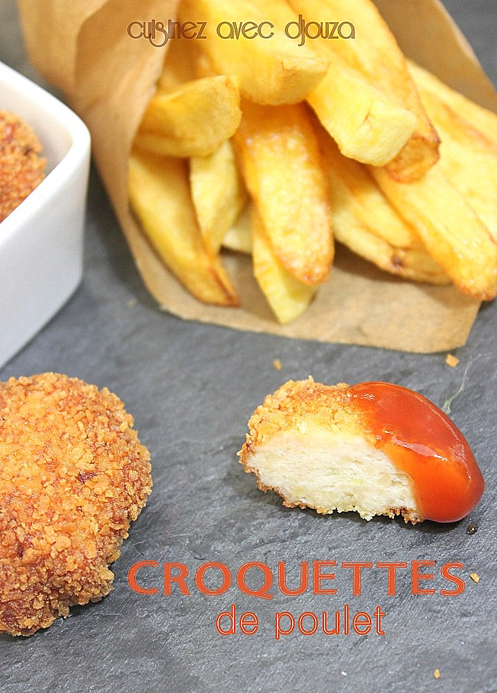 Croquette de poulet (volaille blanche)