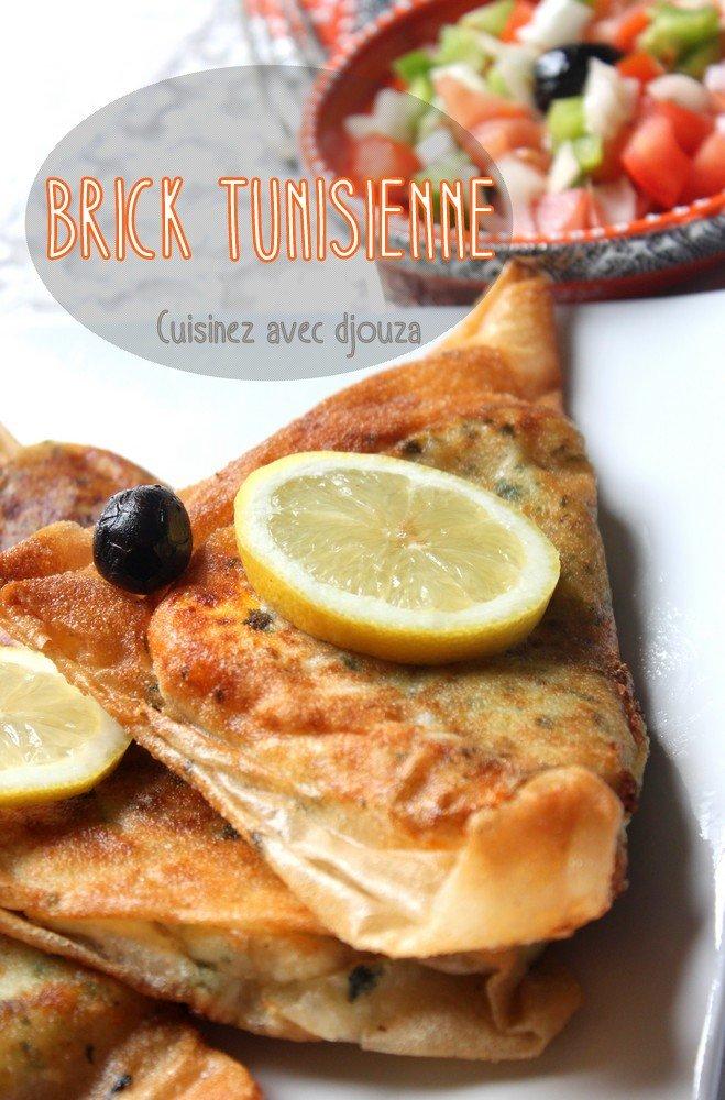 Brick tunisienne au thon et harissa