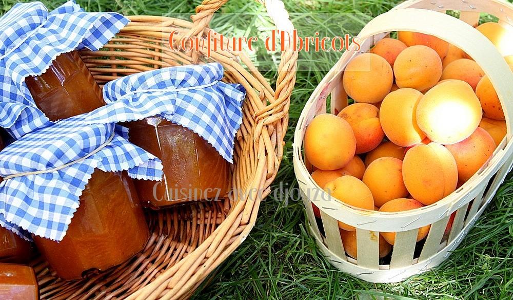 Confiture d'abricots maison a l'ancienne, au sucre et citron