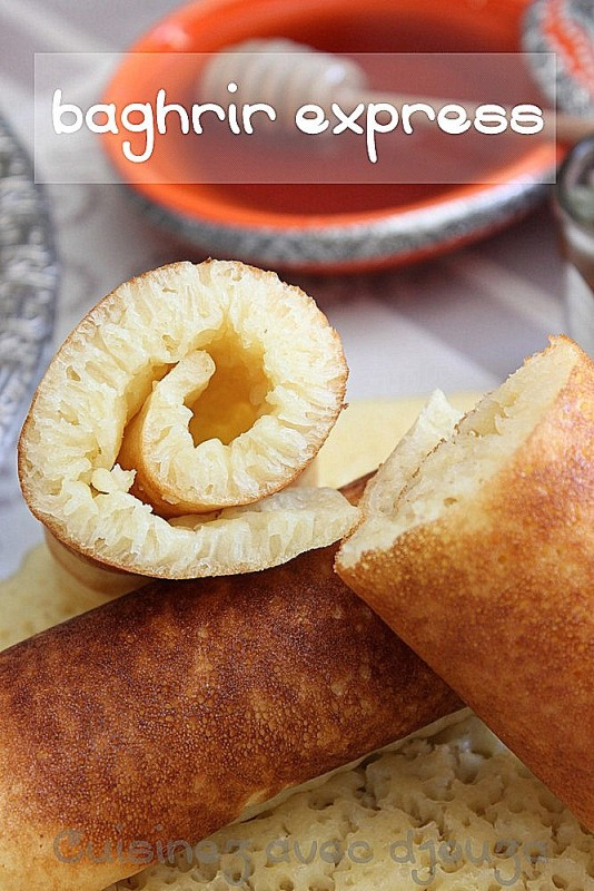 Baghrir express crepes aux milles trous facile et rapide - Recette de cuisine facile et rapide algerien ...