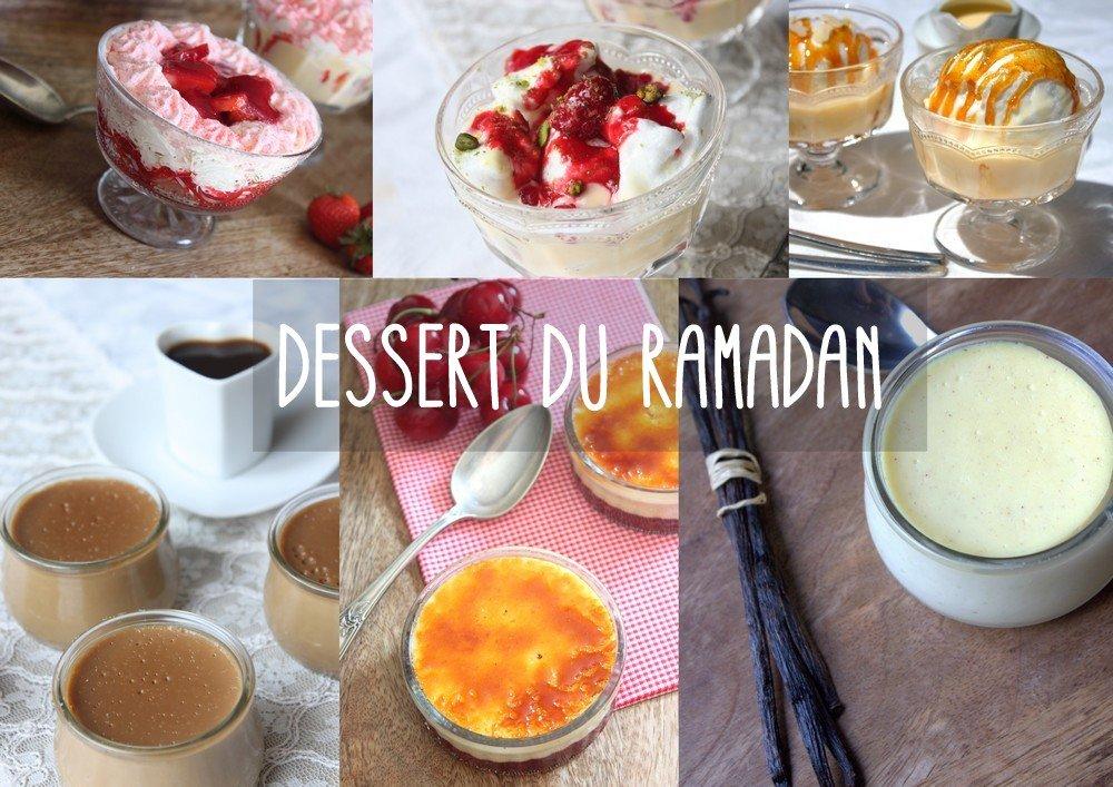 Dessert à préparer pour le Ramadan