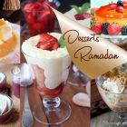 Desserts de Ramadan 2017