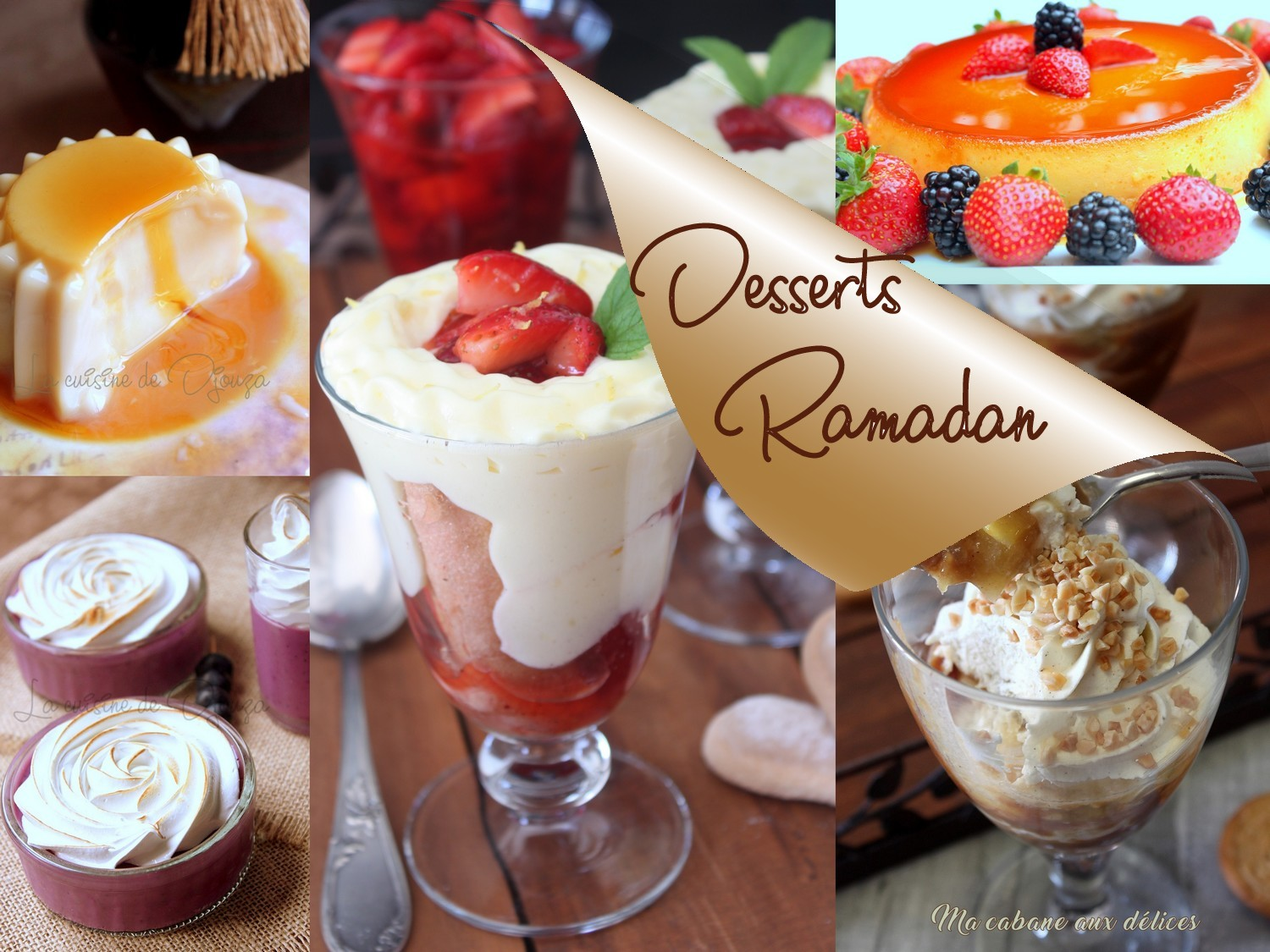 desserts de ramadan 2017 recettes faciles recettes rapides de djouza. Black Bedroom Furniture Sets. Home Design Ideas