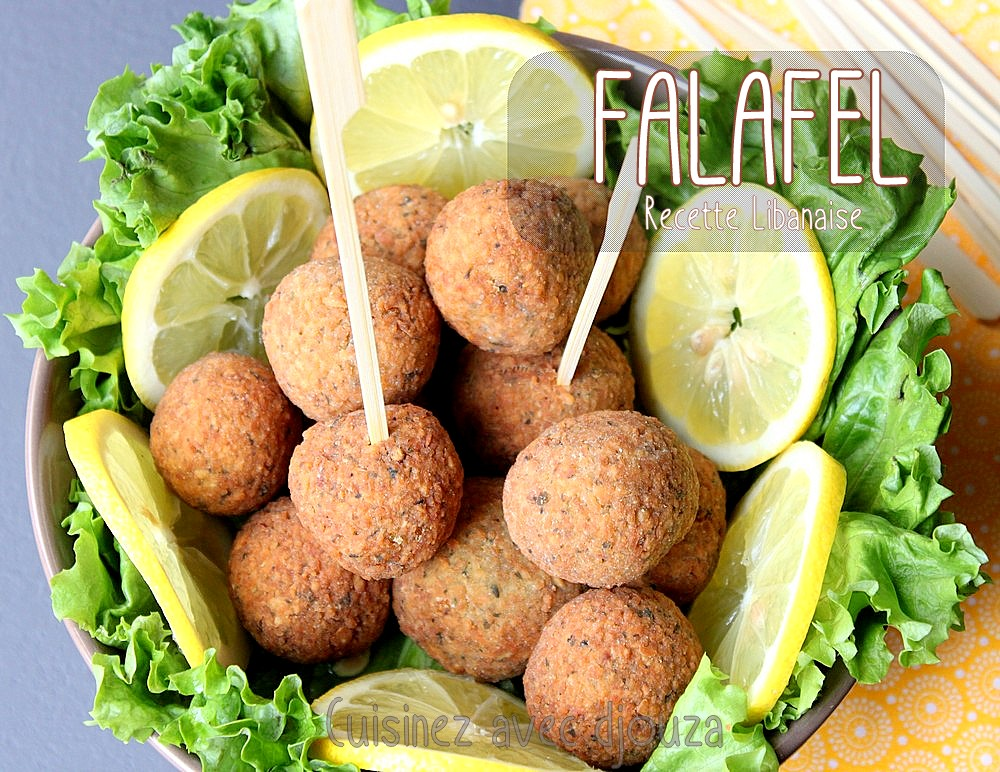 falafels libanaises aux pois chiches | recettes faciles, recettes