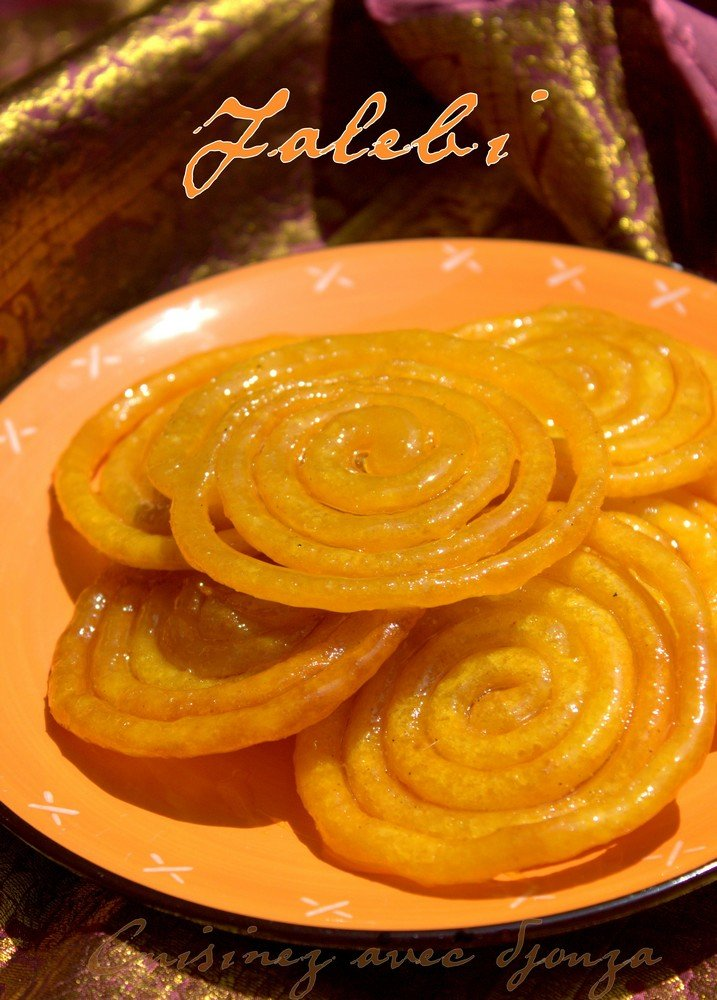 Jalebi recette traditionnelle indienne fermentation naturelle