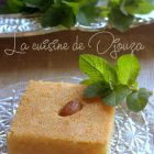 Kalb el louz au yaourt ou lben