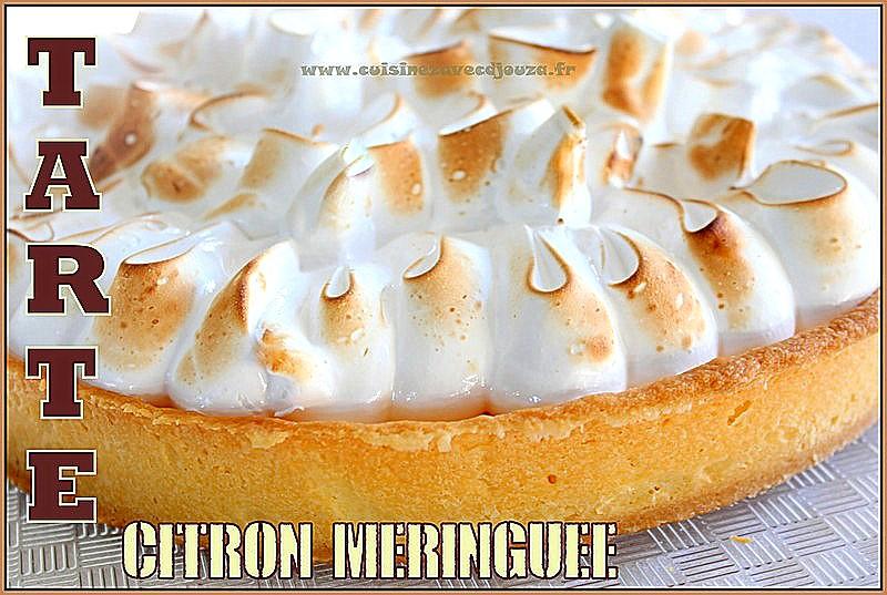 Recette tarte citron facile