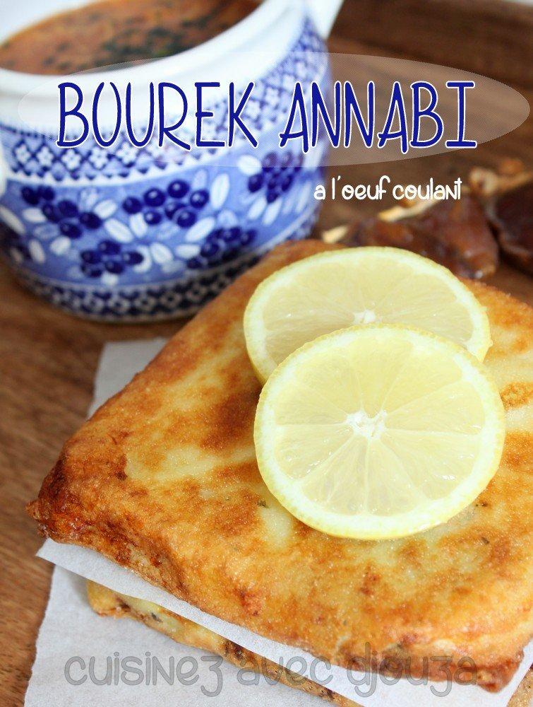 Bourek annabi brick à l'oeuf coulant, pomme de terre et viande hachee