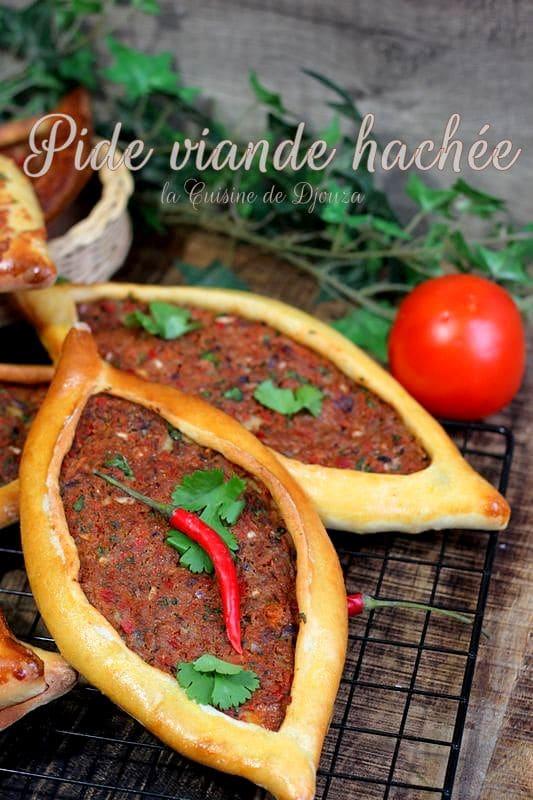recette pide turc