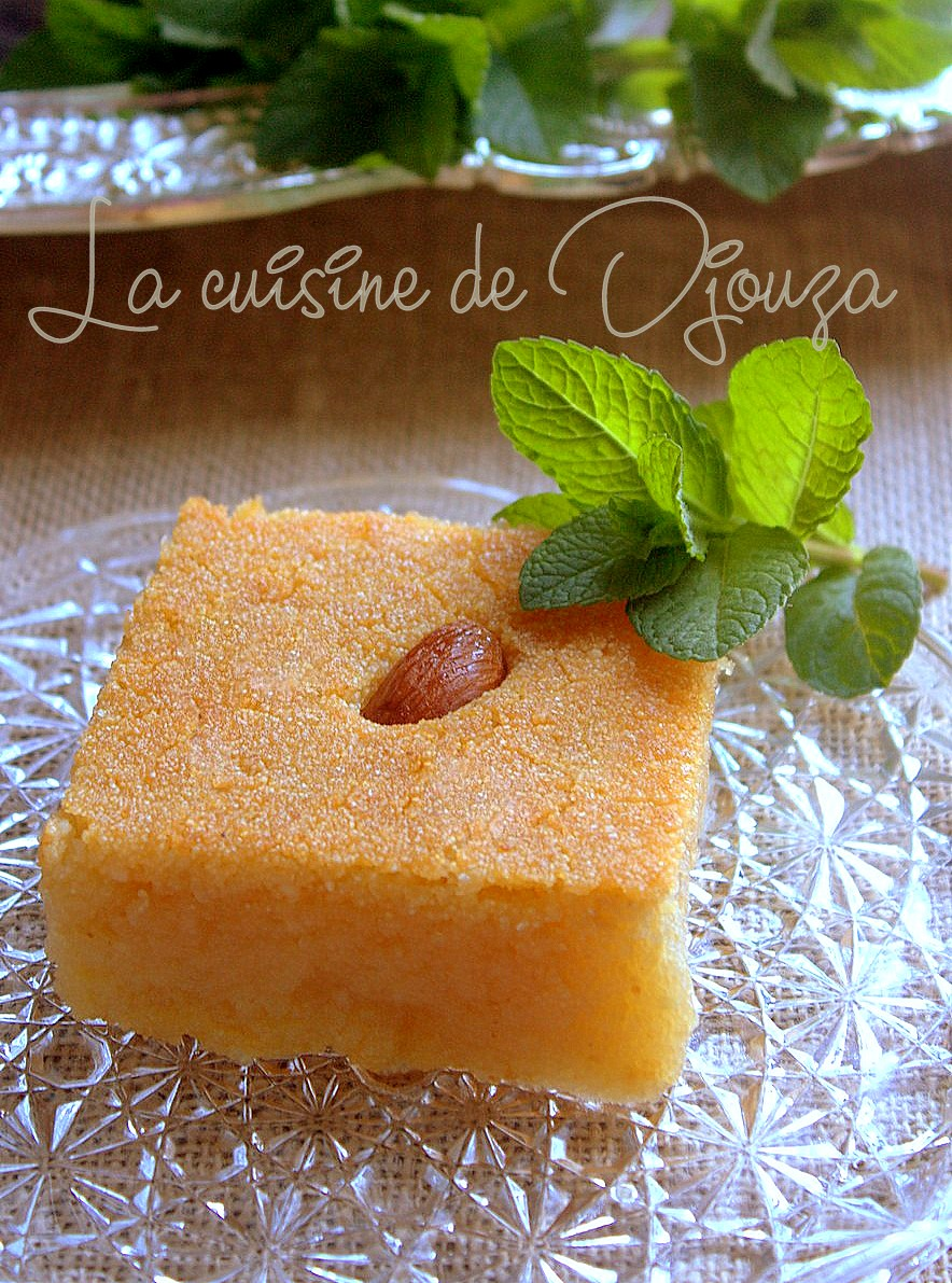 Kalb el louz au yaourt