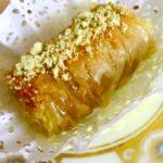 Recette Baklawa rolls, baklava roulé pate filo