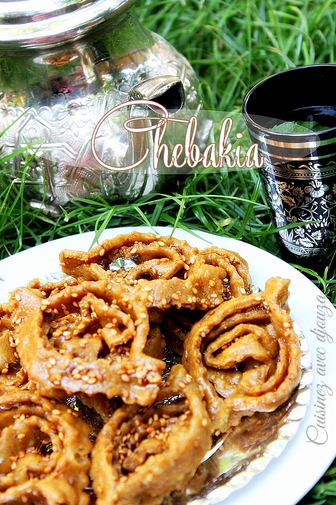 Chebakia maghribiya marocaine