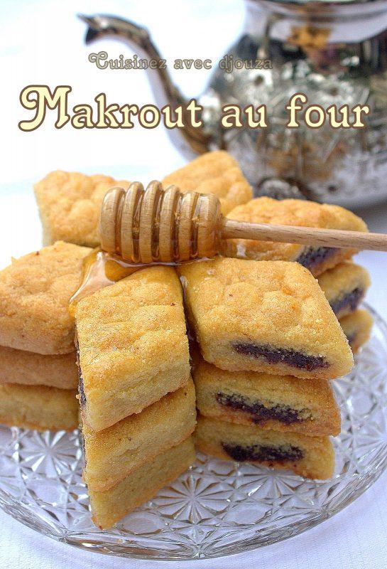 Makrout au four recette facile recettes faciles recettes rapides de djouza - Cuisine orientale facile ...