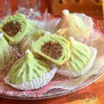 Gateau algérien facile en forme de figues