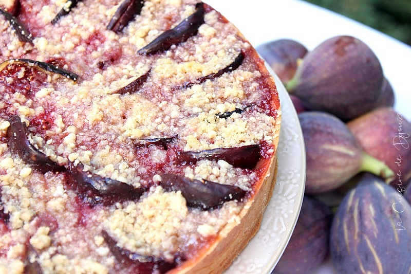 tarte crumble de fruits secs aux figues