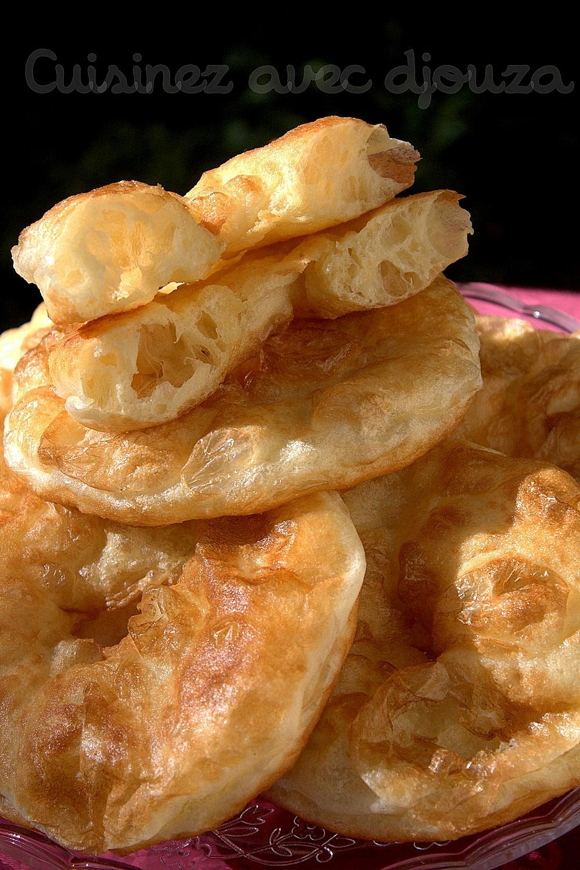 Beignet facile et rapide sfenj à la farine