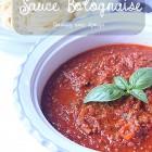 Sauce bolognaise, recette facile a l'orientale
