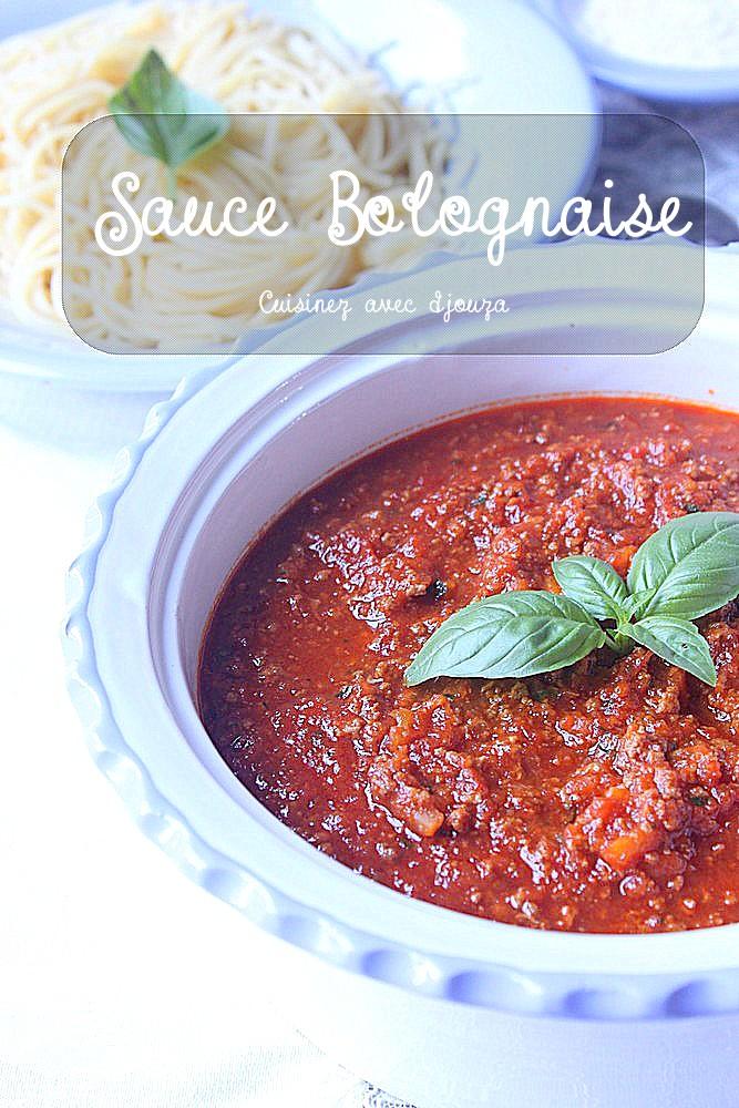 Sauce-bolognaise, recette maison facile
