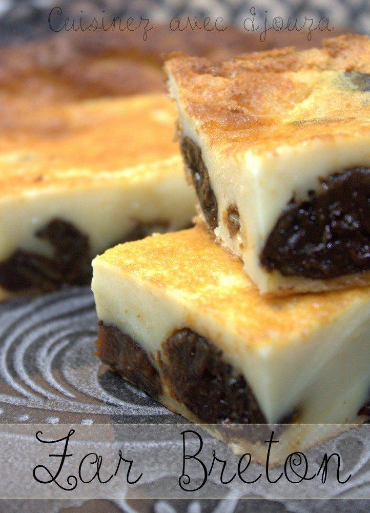 recette du far breton traditionnel recettes faciles recettes rapides de djouza. Black Bedroom Furniture Sets. Home Design Ideas