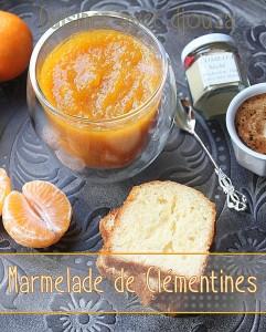 Marmelade ou confiture de clémentines