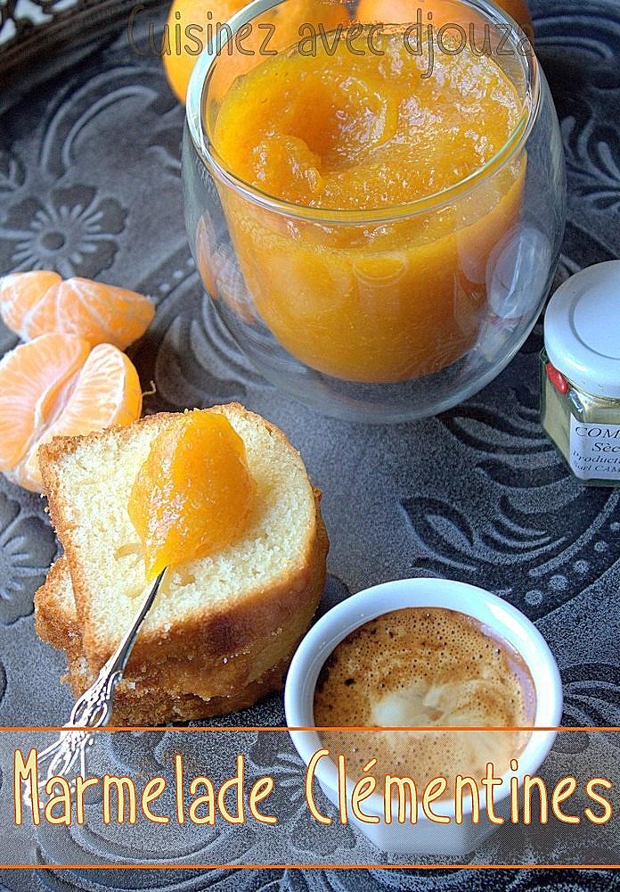 Recette marmelade de clémentines