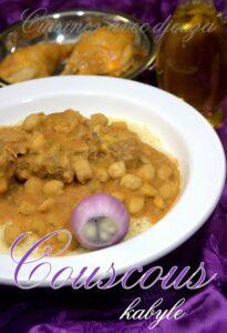 Couscous kabyle aux fevettes seskou avissar