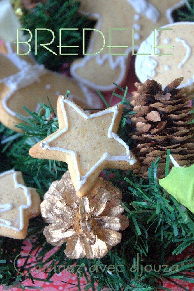 Bredele biscuits de noel alsacien