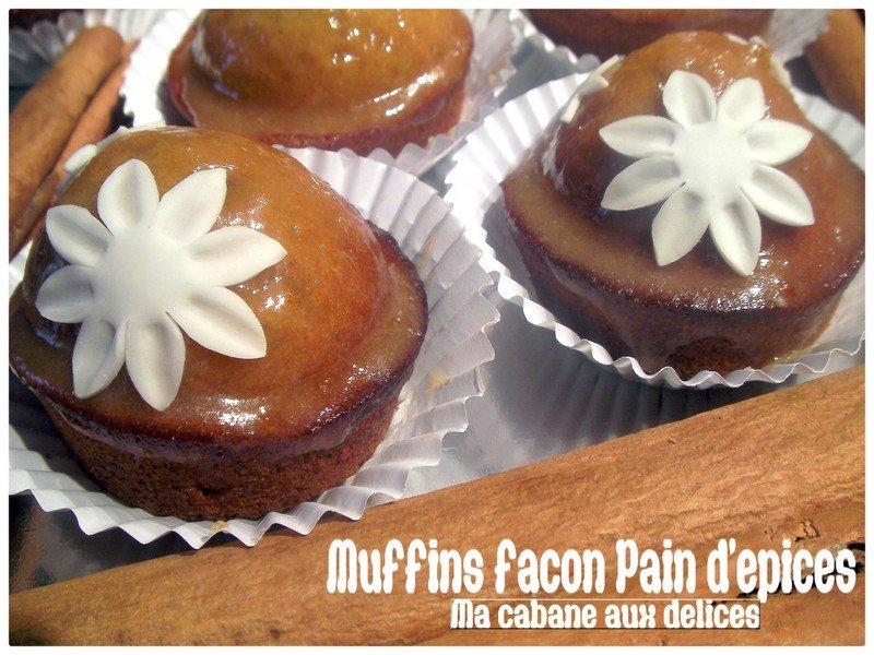 Recette de muffins pain d'épices et confiture d'oranges