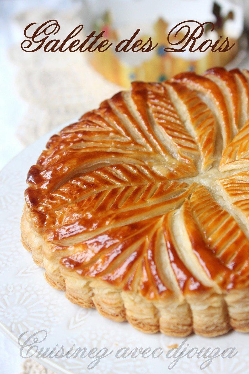 recette galette des rois crème frangipane aux framboises