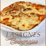 Lasagnes italiennes au boeuf haché