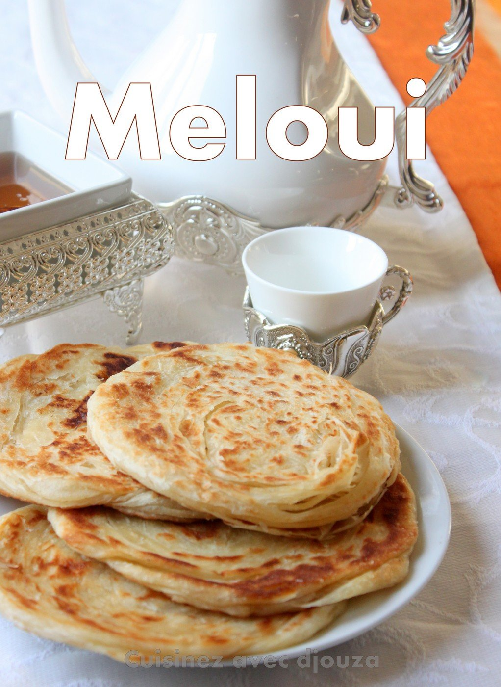 Recette marocaine des melouis crepes