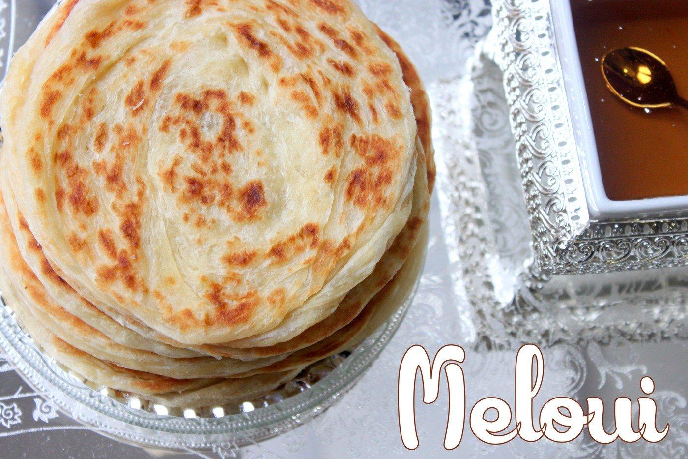meloui, rghaif, des crêpes rondes marocaines