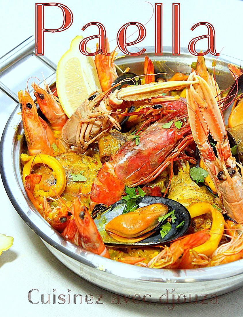 Paella-mixte-au-poulet-et-fruits-de-mer