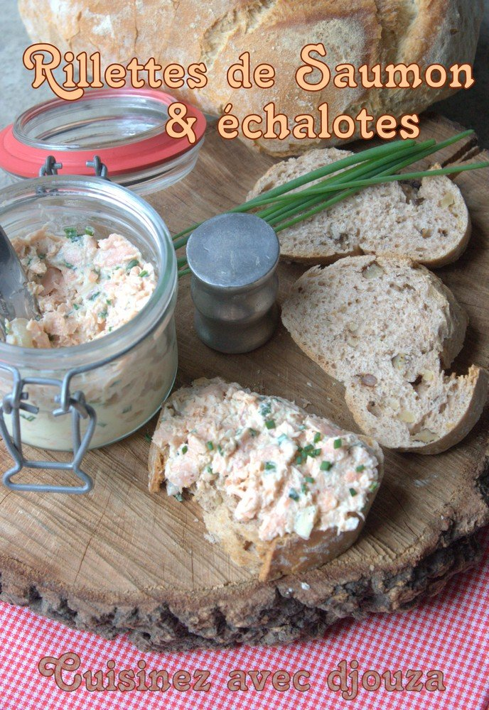 Rillettes facile au saumon