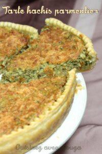 Recette tarte hachis parmentier