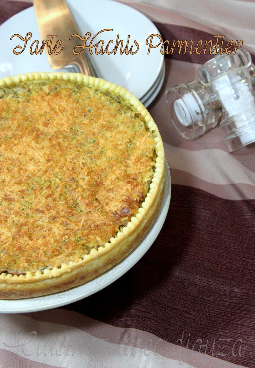 Recette tarte sal e fa on hachis parmentier recettes faciles recettes rapides de djouza - Recette tarte salee originale ...