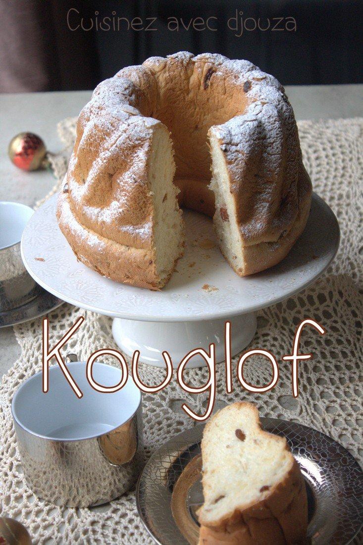 Kouglof specialité alsacienne recette brioche