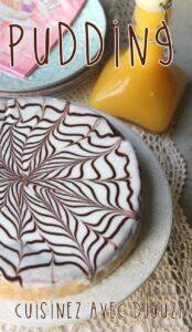 Recette pudding au chocolat avec reste patissier