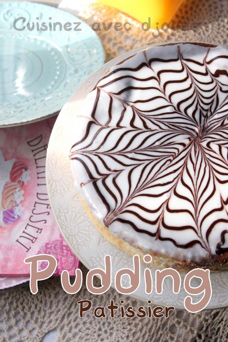 Recette de pudding au chocolat avec fondant