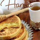 Harcha marocaine au yaourt et fleur d'oranger