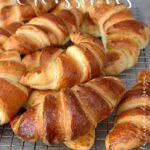 Recette croissant du boulanger à la pâte feuilletée levée