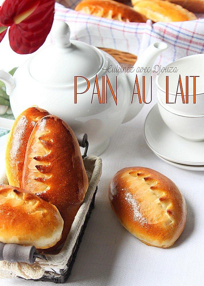 Petit pain au lait très moelleux