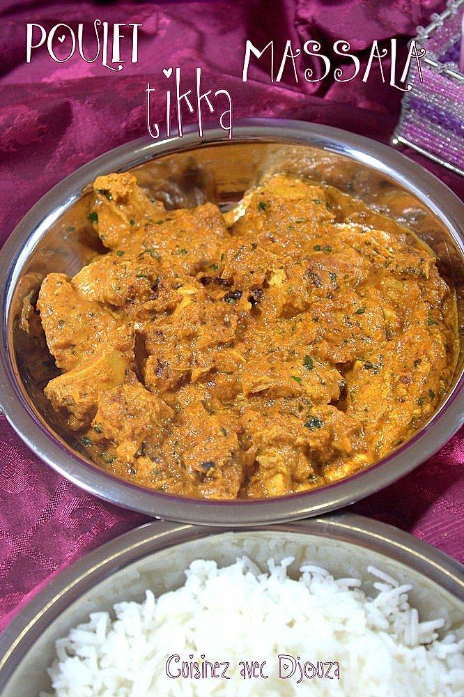 poulet indien au yaourt