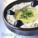 Recette baba ganoush, aubergine libanaise