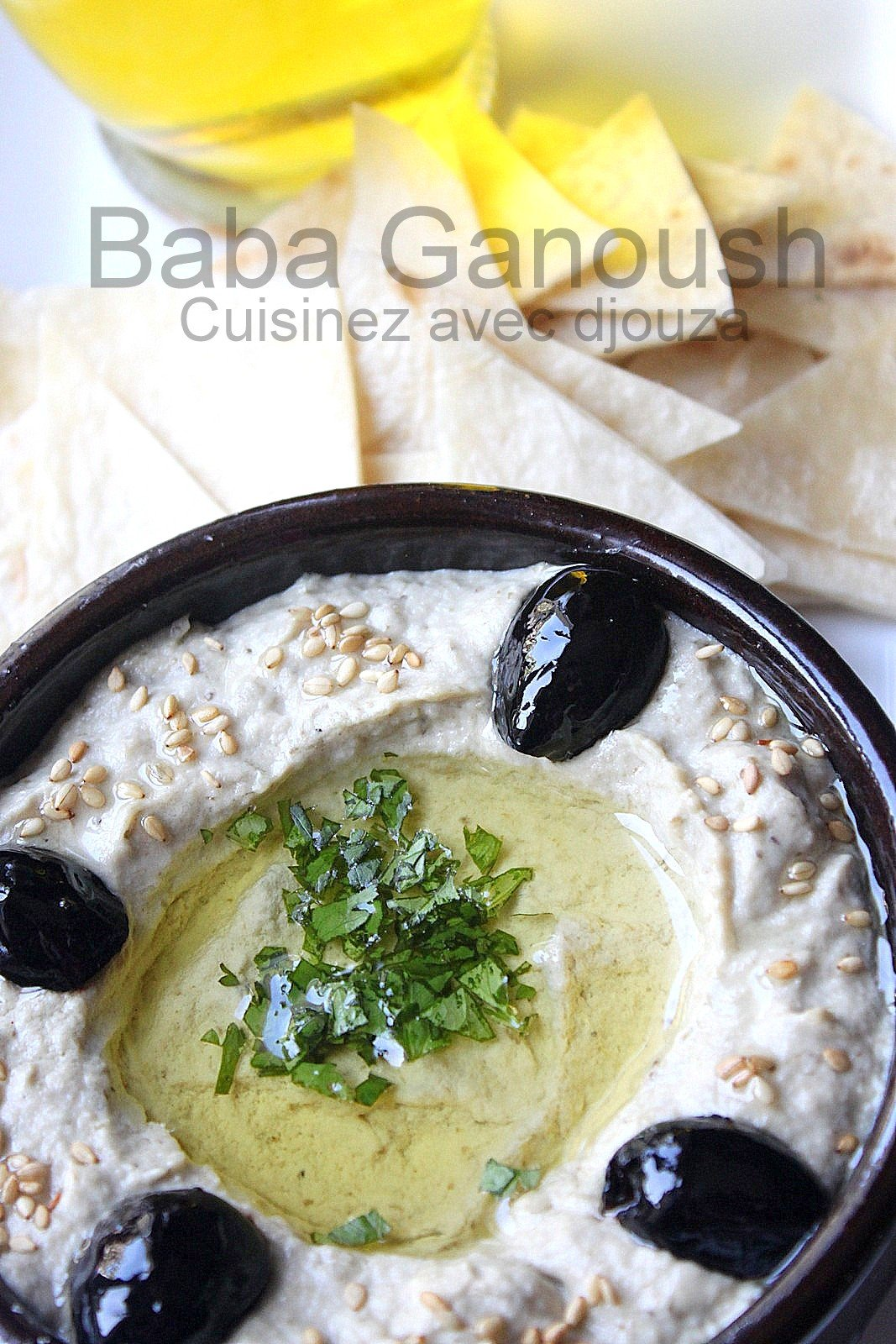 Baba ganoush, recette aux aubergines