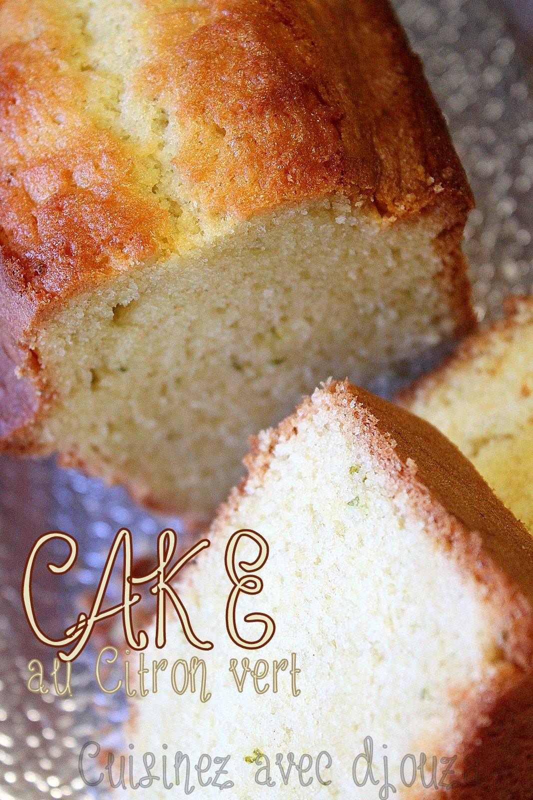 Cake au citron vert facile et moelleux