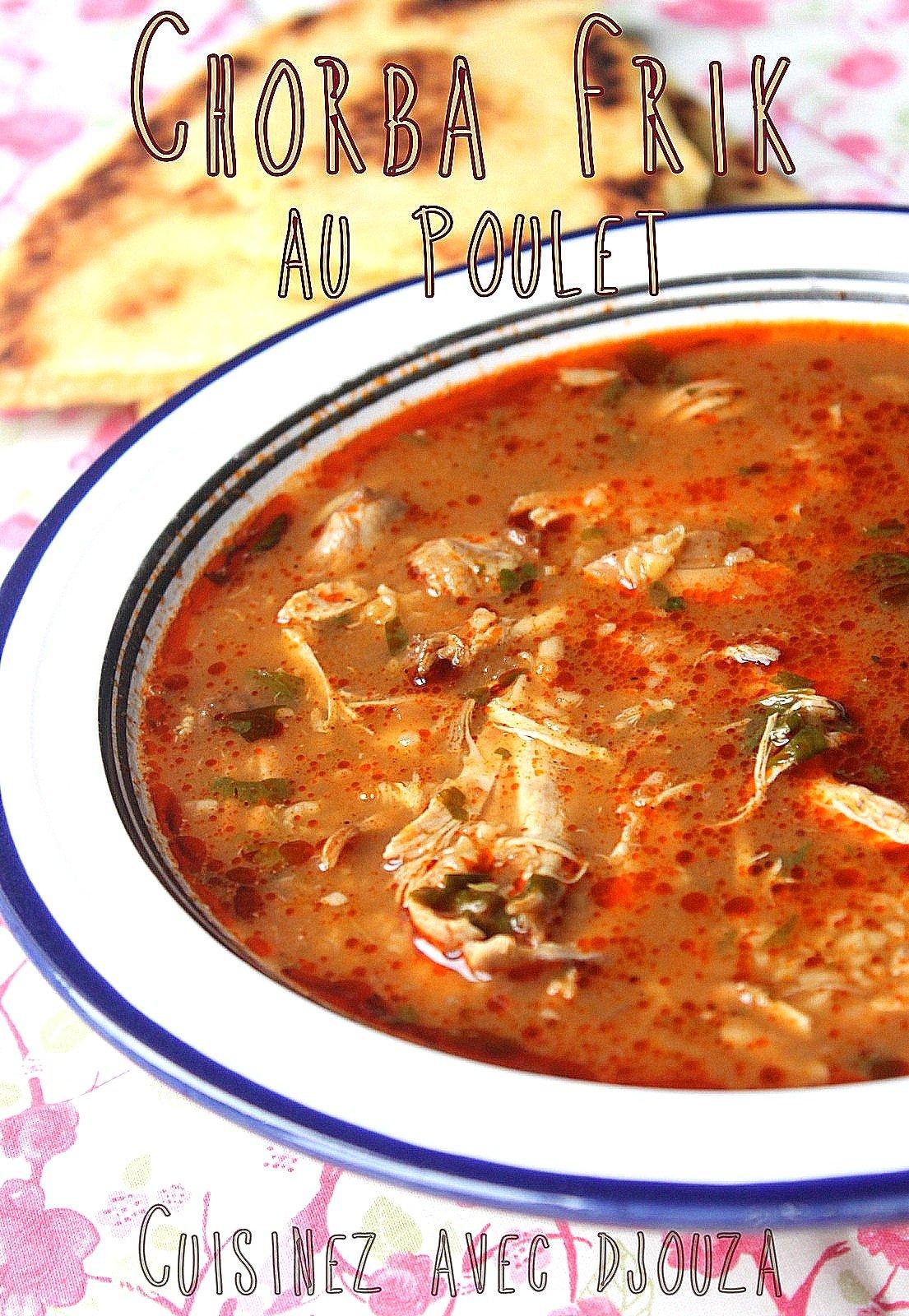 Chorba recette de soupe alg rienne recettes faciles recettes rapides de djouza - Recette de cuisine algerienne facile ...