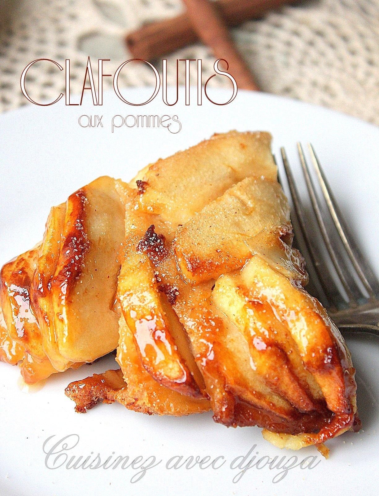 Clafoutis-aux-pommes, gateau au caramel beurre salé